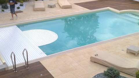 Les types de volets roulants pour piscine mon volet roulant - Piscine type bassin ancien argenteuil ...